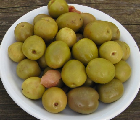 olives close up
