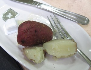 peppered potatoes