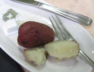 peppered potatoes