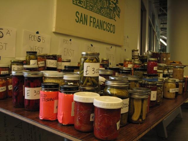 pickles for tasting