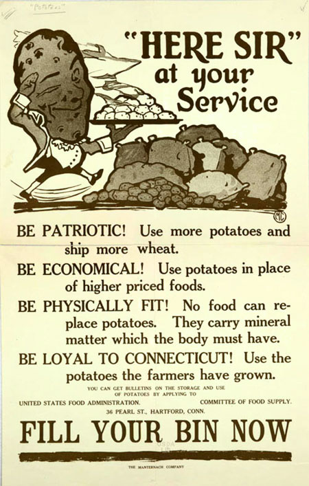 potato poster