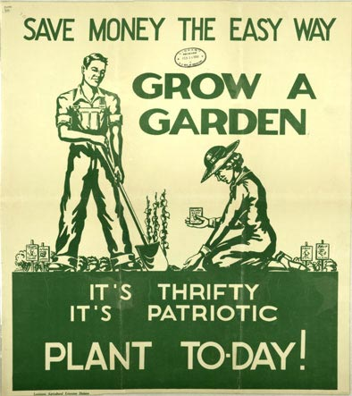 garden-war-food-poster-5 Agricultural Adjustment Act Posters