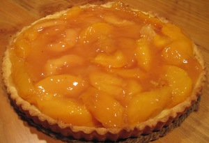 Peach tart with ClearJel