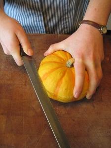 scoring pumpkin