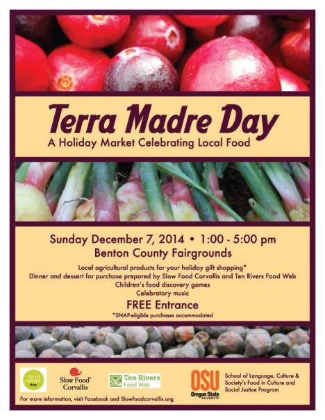 Terra Madre Day 2014 poster