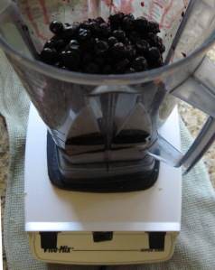 raw black currant jam