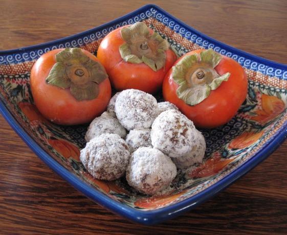 persimmon chews