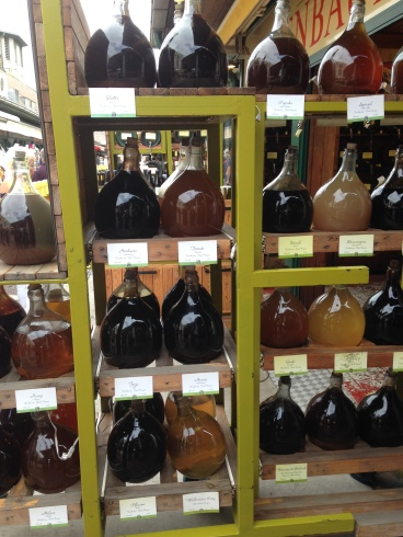fruit vinegars