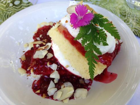 Dessert at Thyme Garden, small