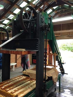 Brocard apple press, small